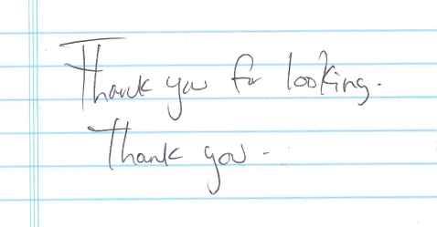 handwriting_thankyouforlooking