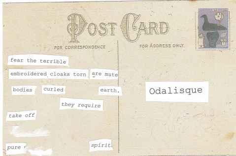 Postcard back--Phoenix