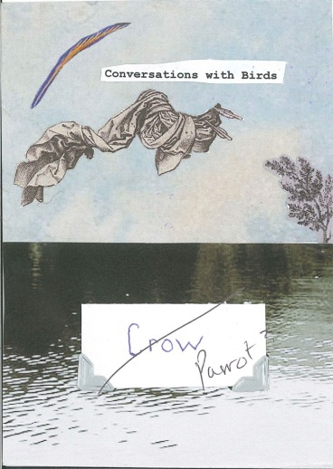 calling card crow/parrot