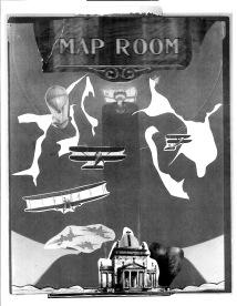 map room b/w